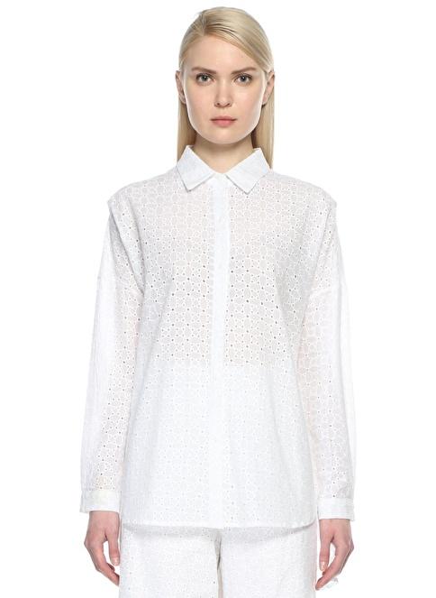Brigitte Gömlek Beyaz